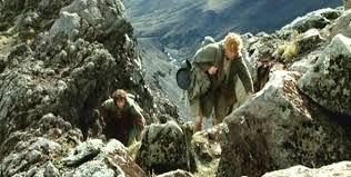 Frodo in Emyn Muil