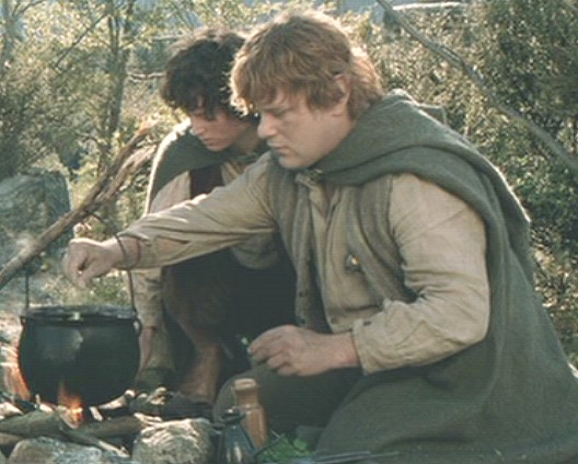 Image result for sam gamgee cooking