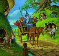 200px-Darrell_Sweet_-_The_Arrival_of_Gandalf